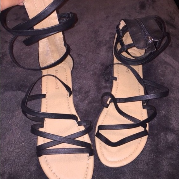 f53a204331d Lane Bryant Shoes - Wide width gladiator sandals